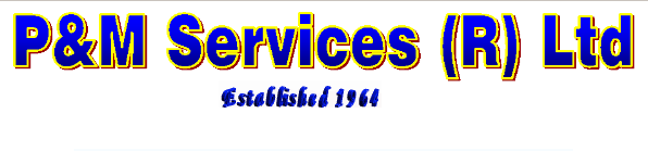 logo of P. & M. Services